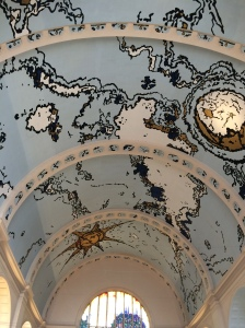 Check out the ceiling in the train station, its a real work of art!